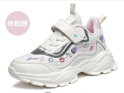 大黄蜂童鞋女童大童运动鞋2021秋季老爹鞋