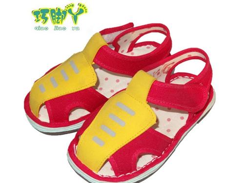 传统布鞋千层底凉鞋鞋儿童鞋厂家批发
