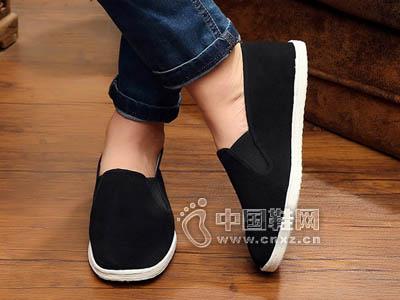 【四合院】正品老北京厂家直供 可定做纯手工千层底功夫布鞋